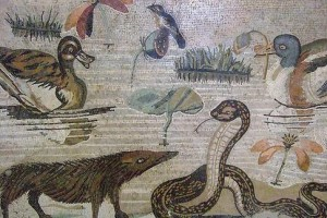 House of the Faun - Nile mosaic